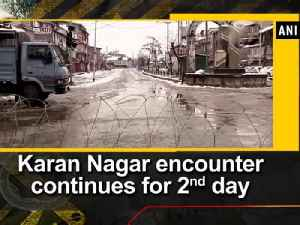 News video: Karan Nagar encounter continues for 2nd day