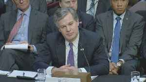News video: FBI followed protocol in Rob Porter background check: Wray