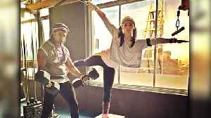News video: Alia Bhatt And Ranveer Singh INTENSE Workout Together For Gully Boy
