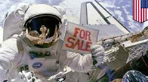 Image result for trump sells international space station
