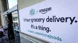 News video: Amazon's Whole Foods Delivery Service Is Off To A Roaring Start