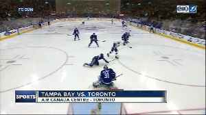 News video: William Nylander scores twice as Toronto Maple Leafs beat Tampa Bay Lightning 4-3