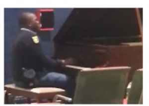 News video: Security Guard Shares Musical Talent at South African Airport