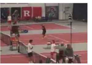 News video: College Tennis Player Spits on Hand Before Shaking Opponent's