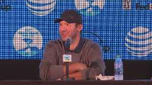News video: Tony Romo Talks About Competing In The Pro Am Tournament