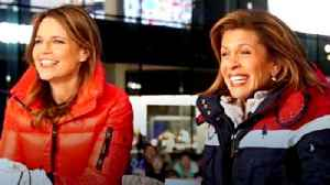 News video: Savannah Guthrie and Hoda Kotb on Adjusting to First Olympics as Working Moms (Exclusive)