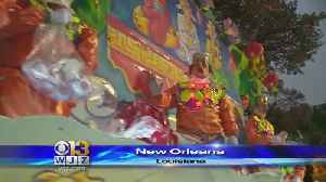 News video: Mardi Gras Parade Honors New Orleans' Tricentennial