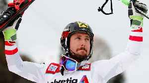 News video: Austrian Skiier Marcel Hirscher Wins First Gold Medal
