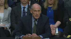 """News video: """"Decision time is becoming ever closer"""" on North Korea: Intel chief"""
