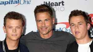 News video: How Rob Lowe Roped His Sons Into Doing Reality TV