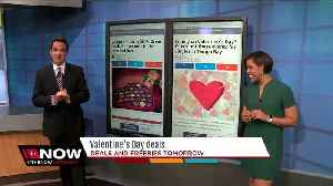 News video: Valentine's Day 2018: Great deals & discounts in the name of love