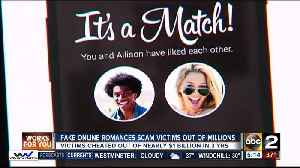 News video: Fake online romances scam victims out of millions of dollars