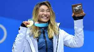News video: Snowboarder Chloe Kim Got to Eat All The Food She's Been Tweeting About