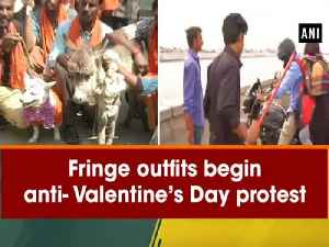 News video: Fringe outfits begin anti-Valentine's Day protest