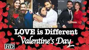 News video: LOVE is Different for Bollywood celebs: Valentine's Day