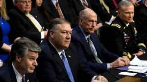 News video: U.S. intel chiefs believe Russia will target the midterm elections