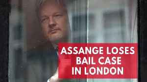 News video: Wikileaks founder, Julian Assange, loses legal battle in London bail case