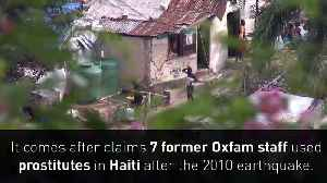 News video: Minnie Driver stands down from Oxfam over Haiti scandal