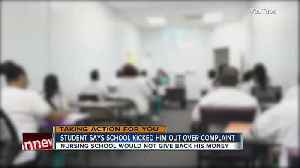 News video: Nursing student fights Bradenton school for refund after he filed complaints