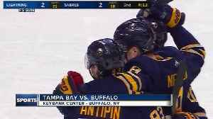 News video: Ryan O'Reilly has goal, assist in Buffalo Sabres' 5-3 win over Tampa Bay Lightning