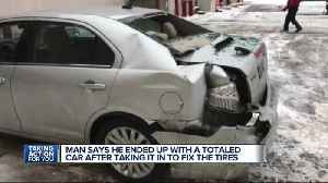 News video: Metro Detroit man says Belle Tire totaled his car, left him out thousands