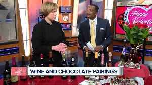 News video: Finding the perfect wine pairing for your Valentine's Day chocolates