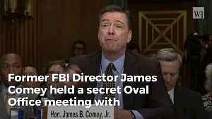 News video: Busted: Comey Secretly Met With Obama Just Before Trump Took Office, Didn't Tell Congress