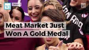 News video: The Olympic Skater Who Rescued Dog From South Korea Meat Market Just Won A Gold Medal