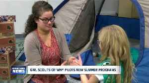 News video: Girls Scouts of WNY rolls out new adventurous programs to empower girls