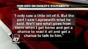 News video: Izzo agrees with Engler about ESPN report