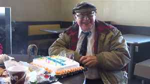 News video: Burger King Employees Throw 80th Birthday Party for Loyal Customer