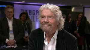 News video: Richard Branson on Brexit, Space Race and Hyperloop