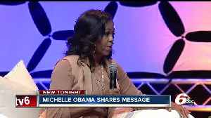 News video: A night with Michelle Obama in Indianapolis