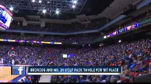News video: Coach Rice wants you to spend Valentines Day at Taco Bell Arena
