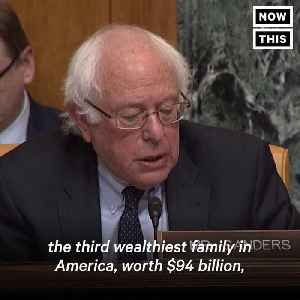 News video: Bernie Sanders Crushes Trump's Budget Director Mick Mulvaney