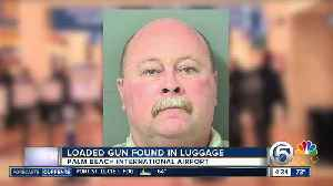 News video: Traveler with loaded gun arrested at Palm Beach International Airport