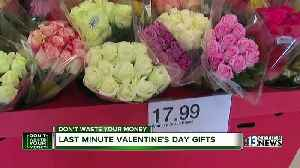 News video: Last minute Valentein's Day gifts