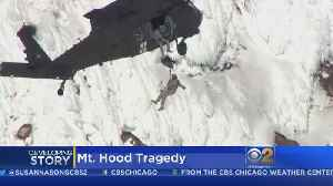 News video: Climber Dies After Fall On Mount Hood, 6 Others Rescued