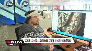 News video: Local scientist has evidence of life on Mars