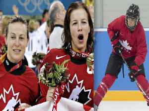 News video: What women's hockey captains have learned from past players