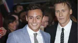 News video: Olympian Tom Daley and Oscar Winner Dustin Lance Black Announce Baby News