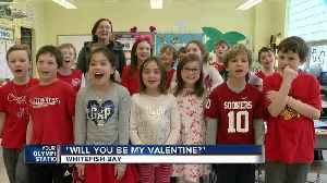 News video: St. Monica's School in Whitefish Bay celebrates Valentine's Day a day early