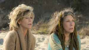 News video: Netflix Renews 'Grace and Frankie' for a Fifth Season