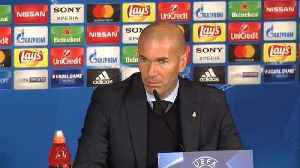 News video: Zidane happy with Champions League win against PSG