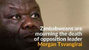 News video: Zimbabweans salute opposition leader Tsvangirai