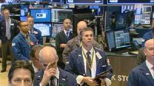 News video: A moment of silence at the NYSE