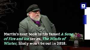 News video: George R.R. Martin Gave a Not-So-Good Update on the Next 'Game of Thrones' Book