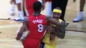 News video: Isaiah Thomas & Rajon Rondo Get Ejected After FIGHTING Over Celtics Tribute Video