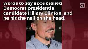 News video: Benghazi Survivor Lost It On Hillary, Said What A Sick Person She Is