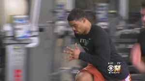 News video: Draft Prospects Prepare For NFL Combine In North Texas